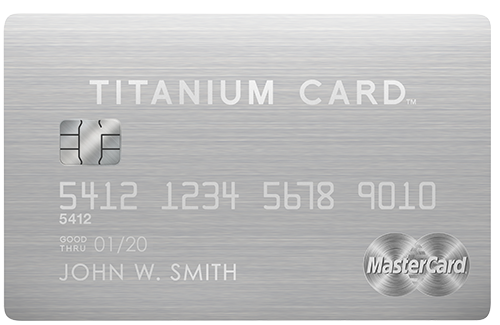 MasterCard Luxury Card TItanium Card